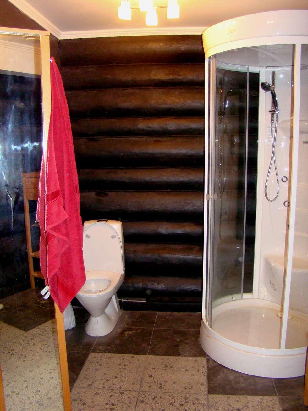 CASA DE BANHO: Casas de banho rústicas por D O M | Architecture interior