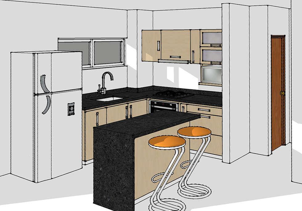 Im genes de decoraci n y dise o de interiores homify for Dimensiones cocina integral