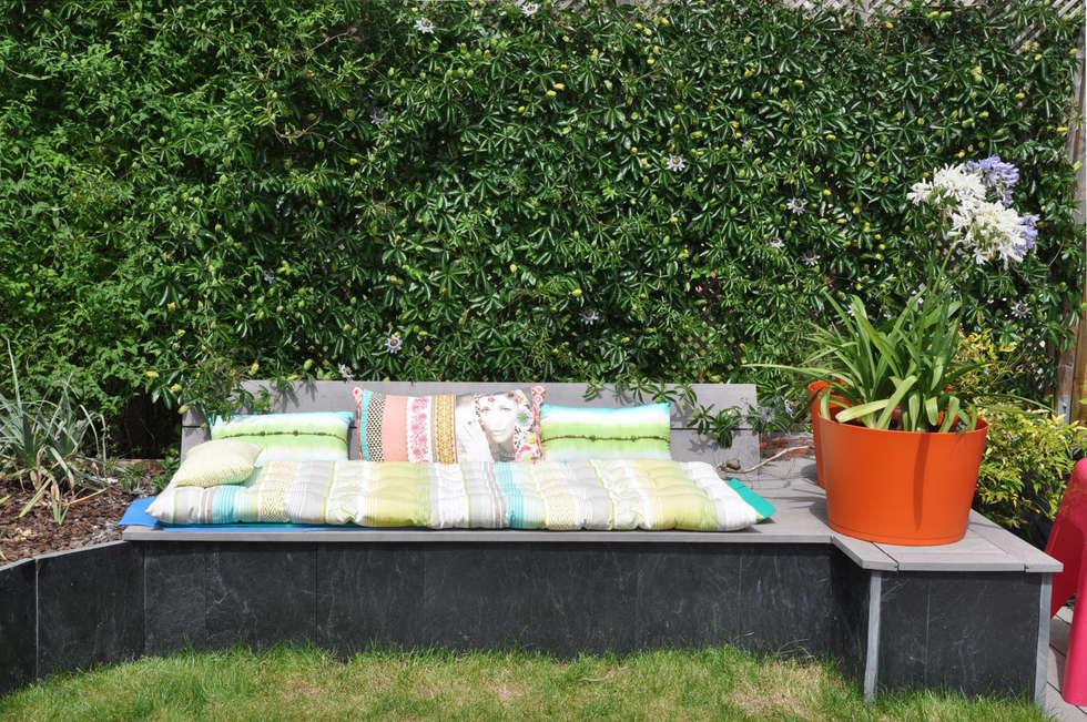 Jardin En Relief: Jardin de style de style Moderne par  Sophie Durin | Empreinte Paysagère