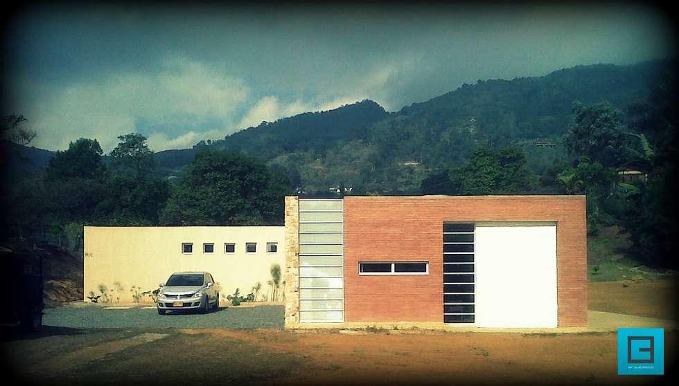 Casa Dapa AN: Casas de estilo moderno por COLECTIVO CREATIVO