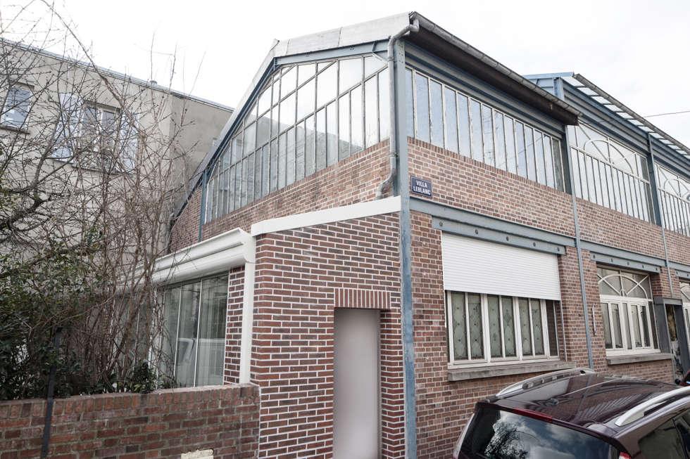 Nouvelle entrée sur rue: Maisons de style de style Industriel par Olivier Olindo Architecte