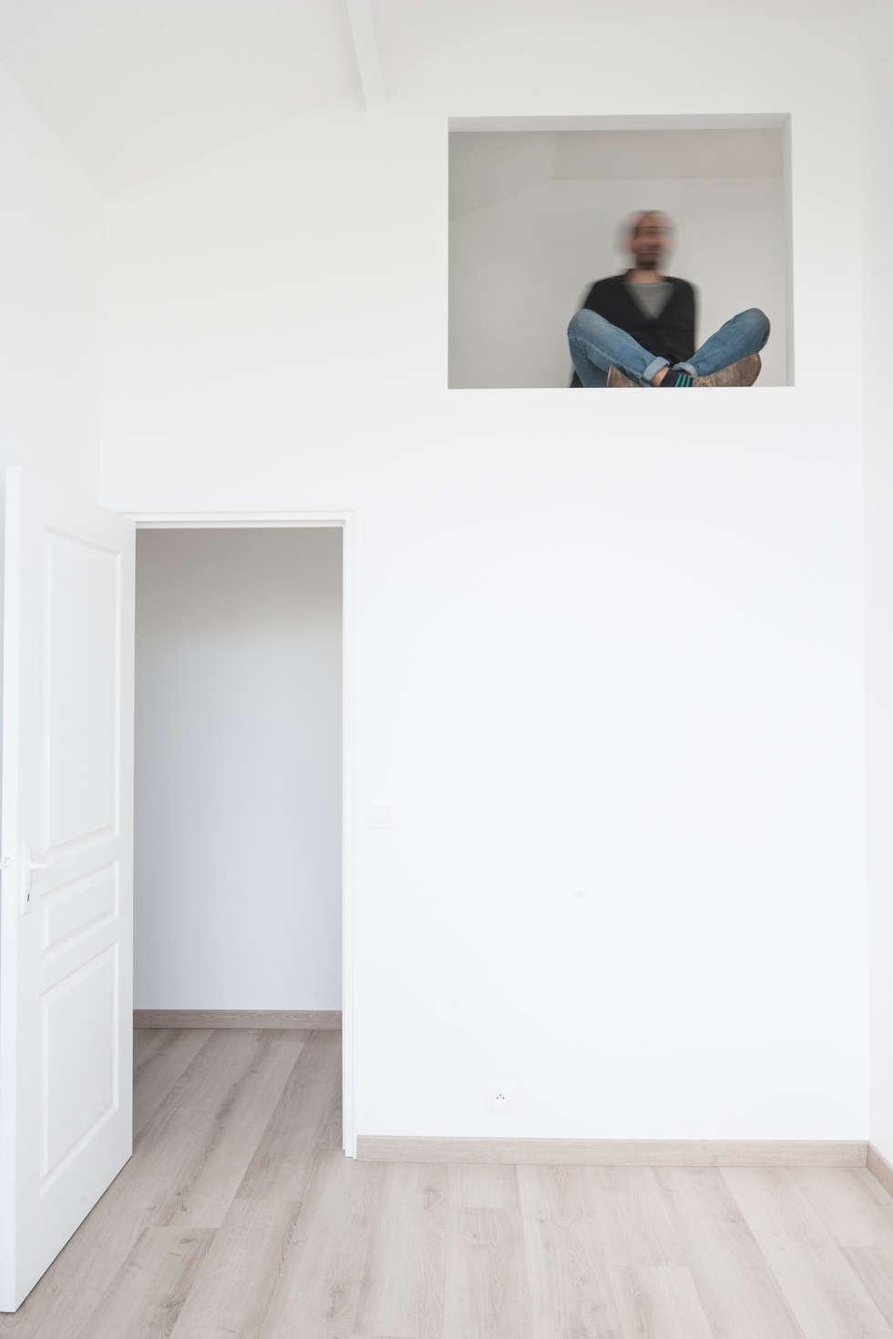 Rangement chambre 02: Chambre d'enfant de style de style Industriel par Olivier Olindo Architecte