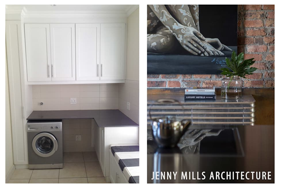 Kitchen before and after: modern Kitchen by Jenny Mills Architects