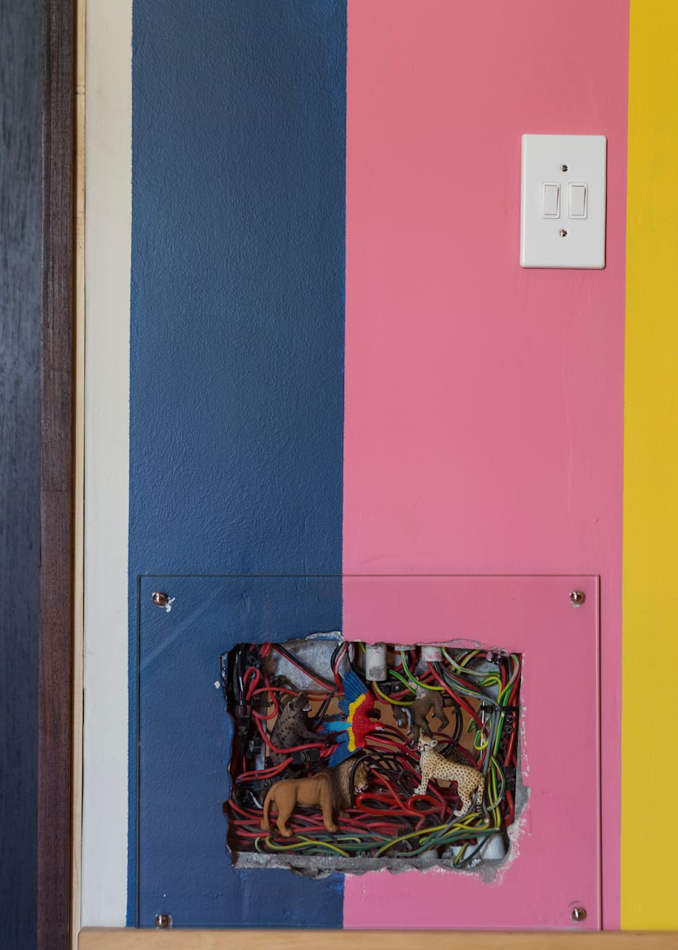 The Electrical Box:  Corridor & hallway by Jenny Mills Architects