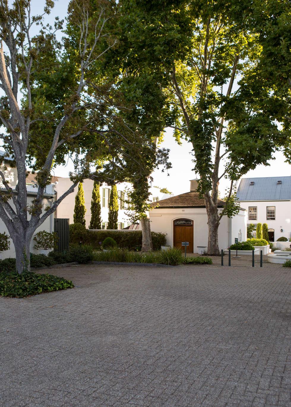 The Alphen Estate: modern Houses by Jenny Mills Architects