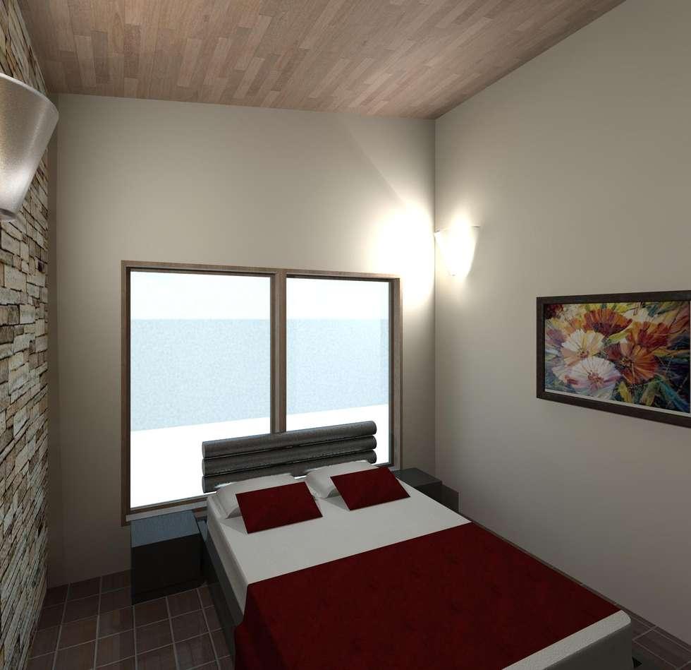 dormitorio 2: Anexos de estilo moderno por Diseño Store