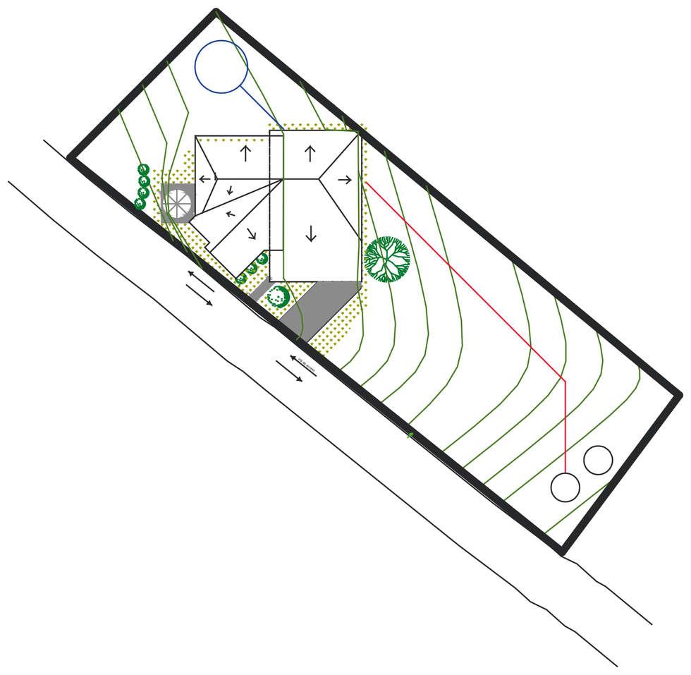 Conjunto: Casas de estilo rural por Loft 5101 F.P.