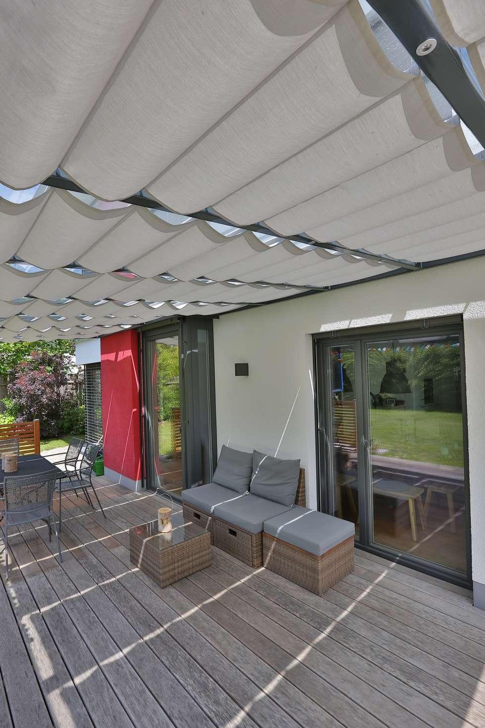 Wohnideen interior design einrichtungsideen bilder for Toldos patios terrazas
