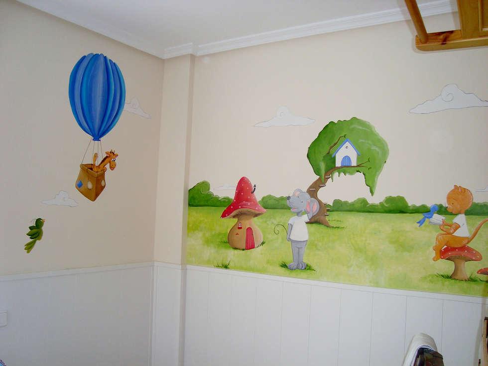 Fotos de decoraci n y dise o de interiores homify for Murales para ninos