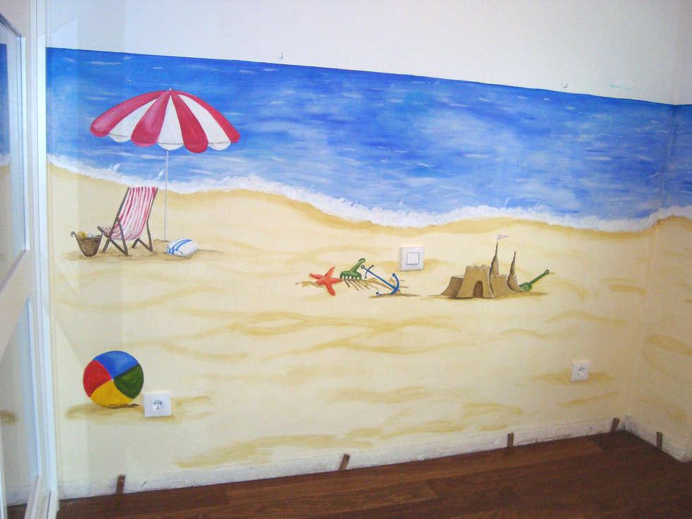 Fotos de decoraci n y dise o de interiores homify - Murales con fotos ...