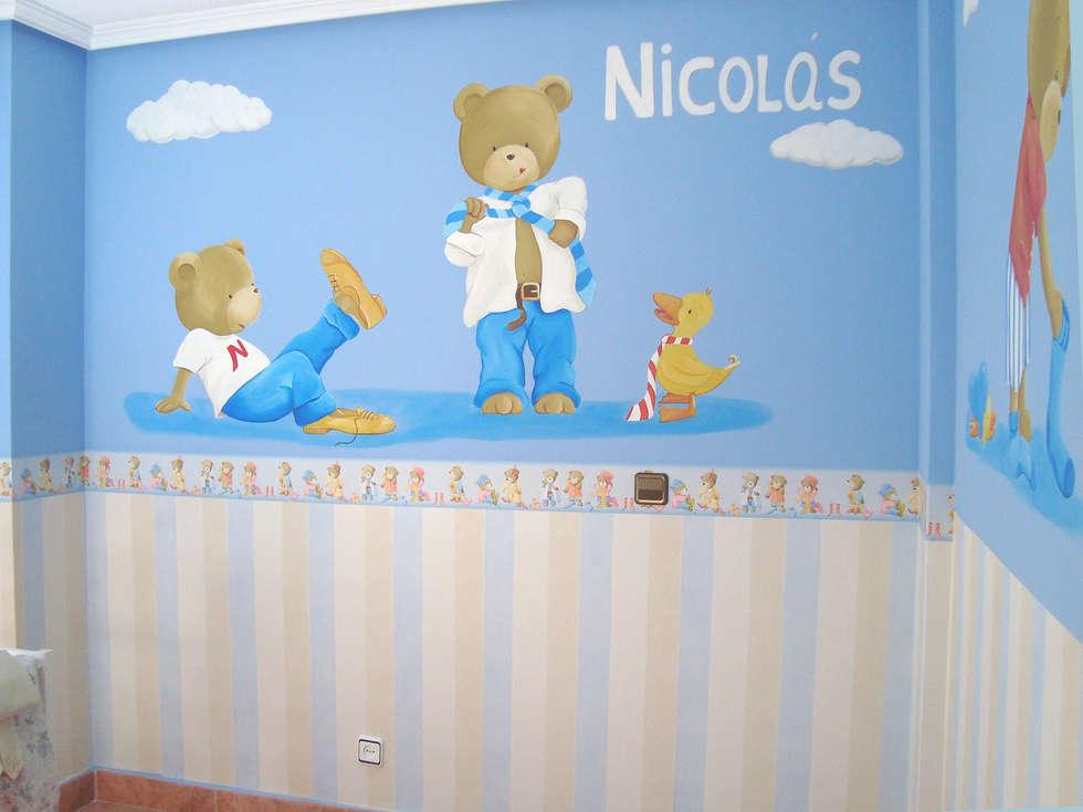 Ideas im genes y decoraci n de hogares homify - Murales para ninas ...