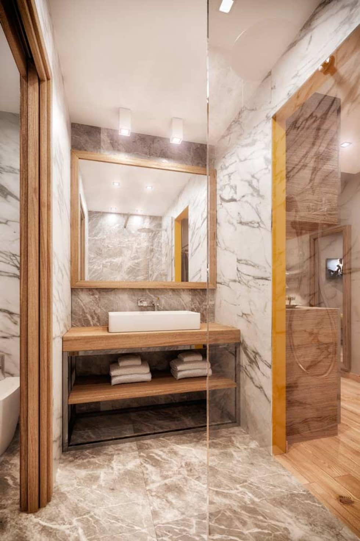 Rendering 3d : Camere Hotel : Bagno in stile in stile Moderno di Pasquale De Angelis