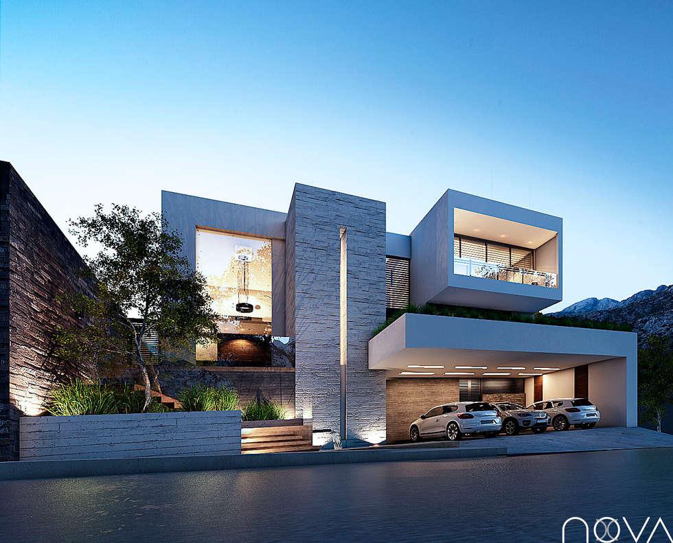 Interior design ideas redecorating remodeling photos - Fachada casas modernas ...