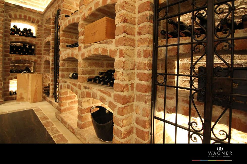 Möbelmanufaktur Wagner modern wine cellarwagner möbel manufaktur | homify