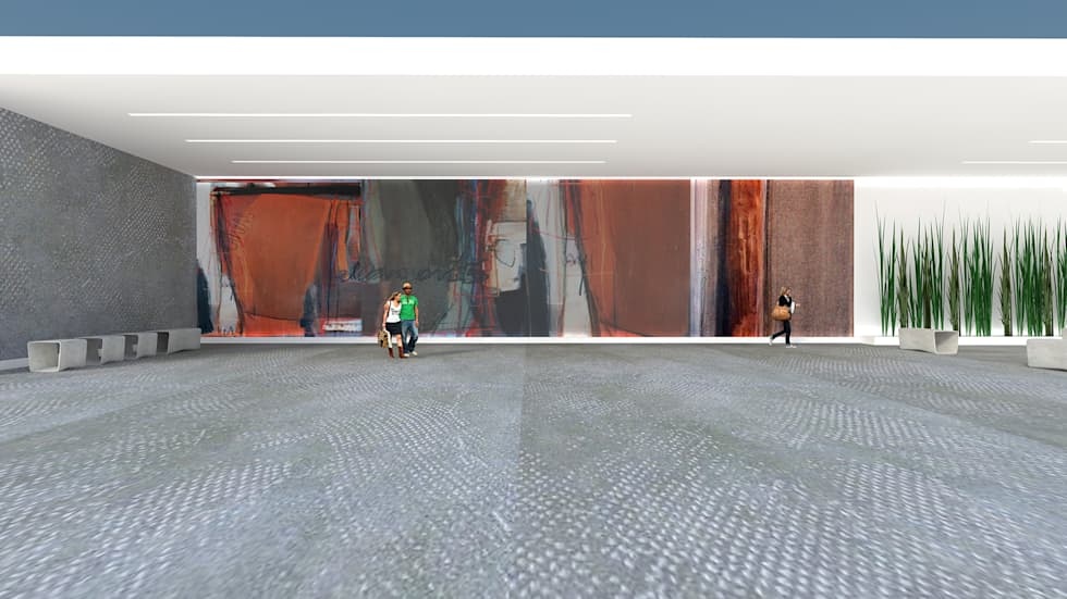 Arte Exterior| Mural: Centros de exposições  por  IDesign.art by Paula Gouveia