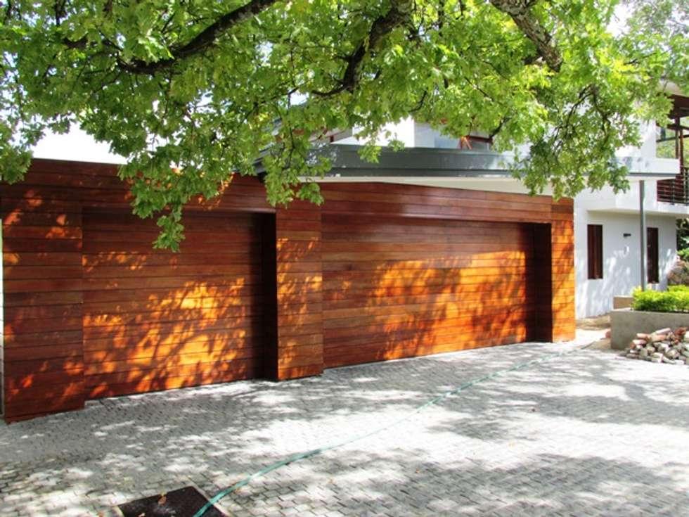 Meranti Cladding : modern Windows & doors by Window + Door Store Cape