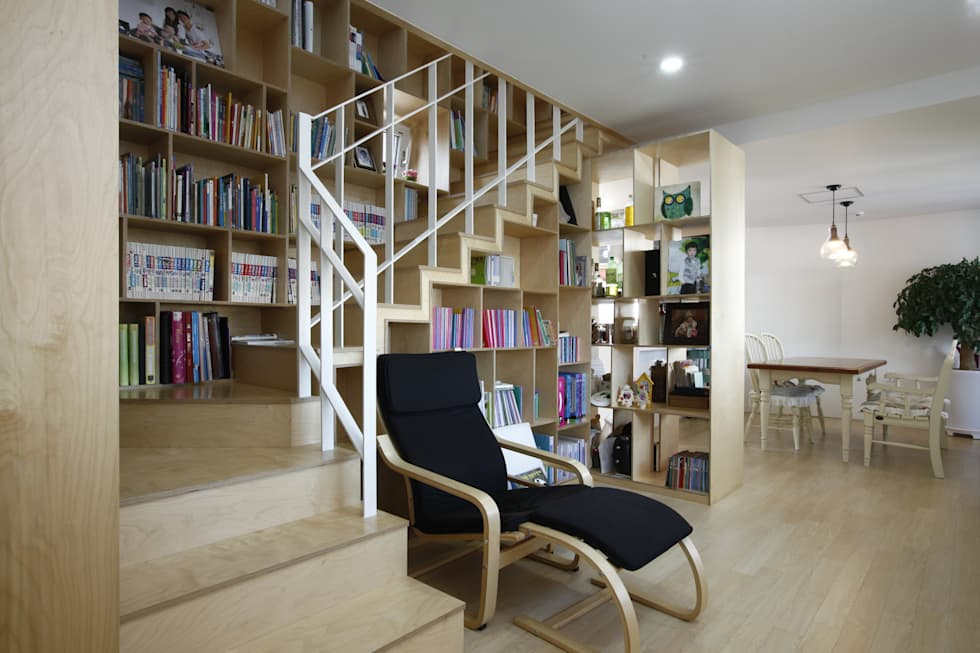 Salas multimídia modernas por 리슈건축