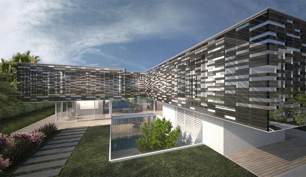 giardino e : Giardino in stile in stile Moderno di effesseprogetti®