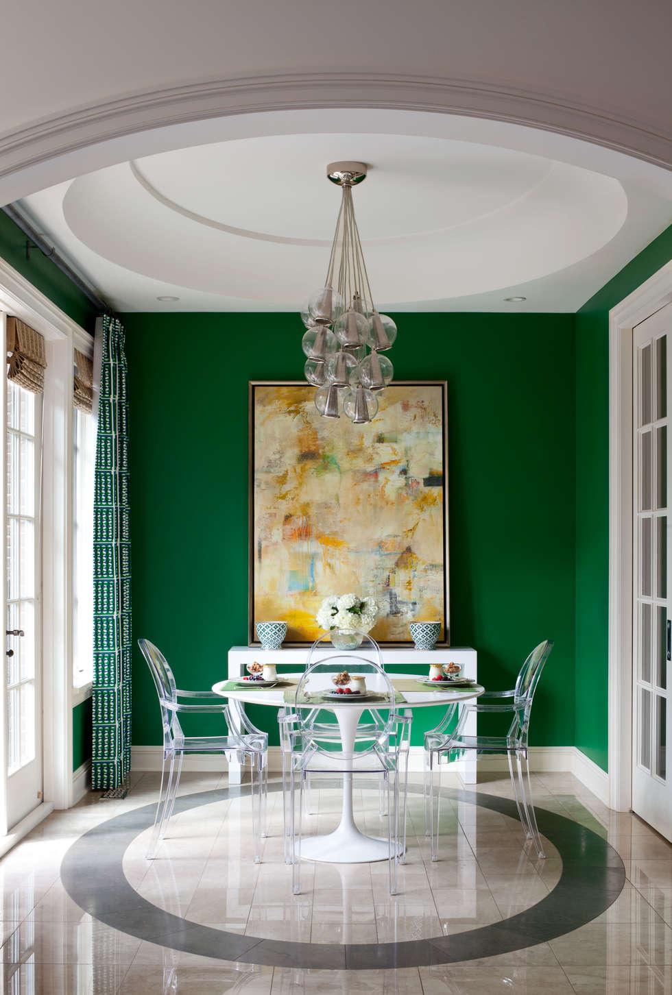 Comedores de estilo ecléctico por Andrea Schumacher Interiors
