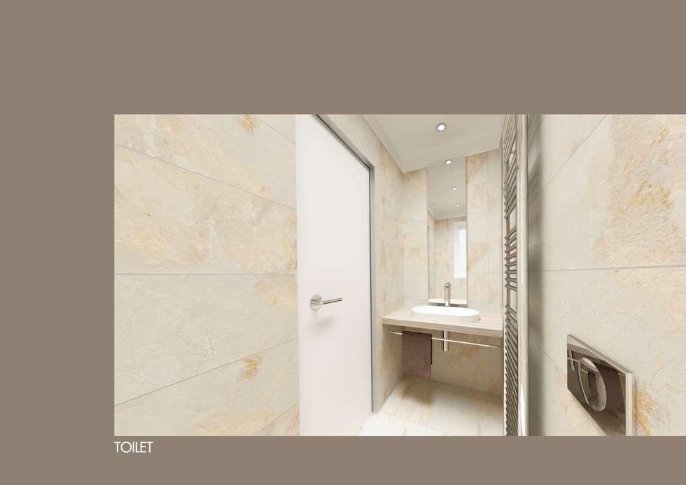 AuBergewohnlich Design Kleinhaus Modell 2: Moderne Badezimmer Von Raumwerk
