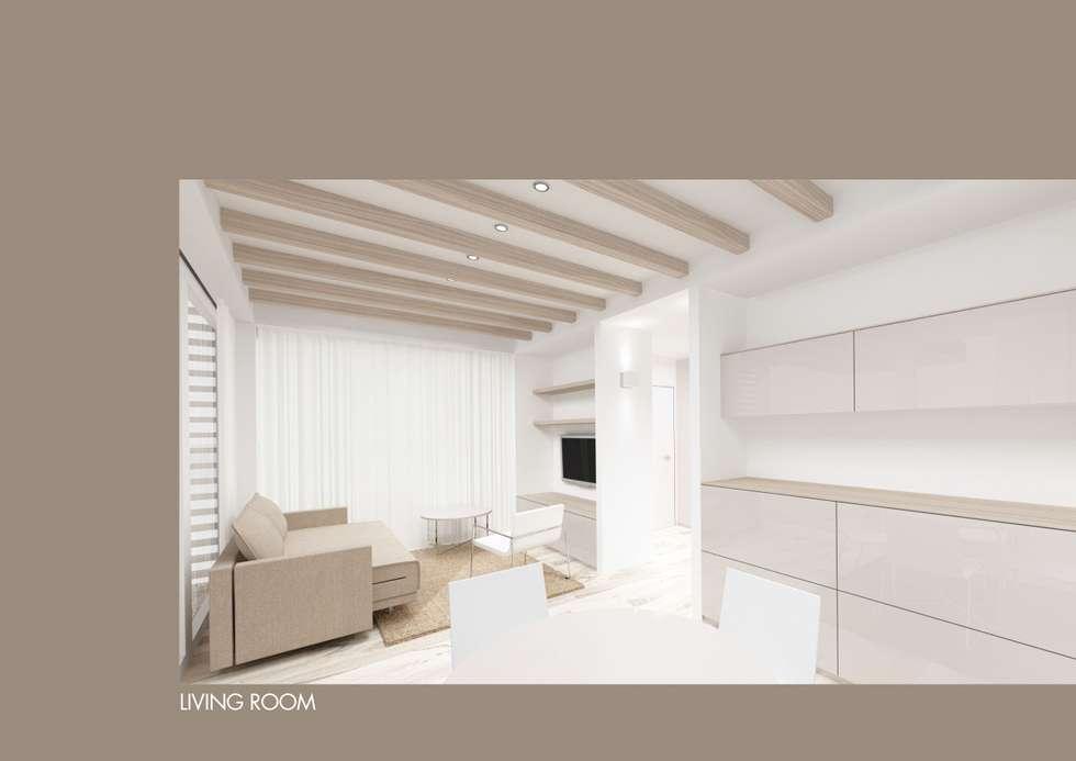 Design Kleinhaus Modell 2: Moderne Wohnzimmer Von Raumwerk