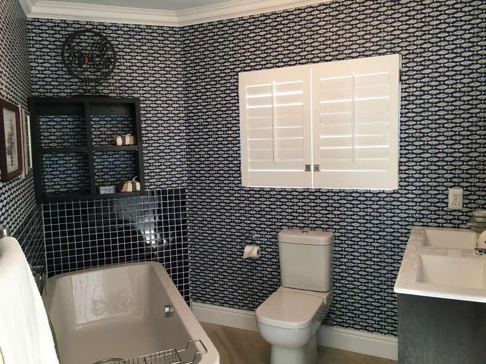 De Kelders Residence Hermanus Western Cape: modern Bathroom by CS DESIGN