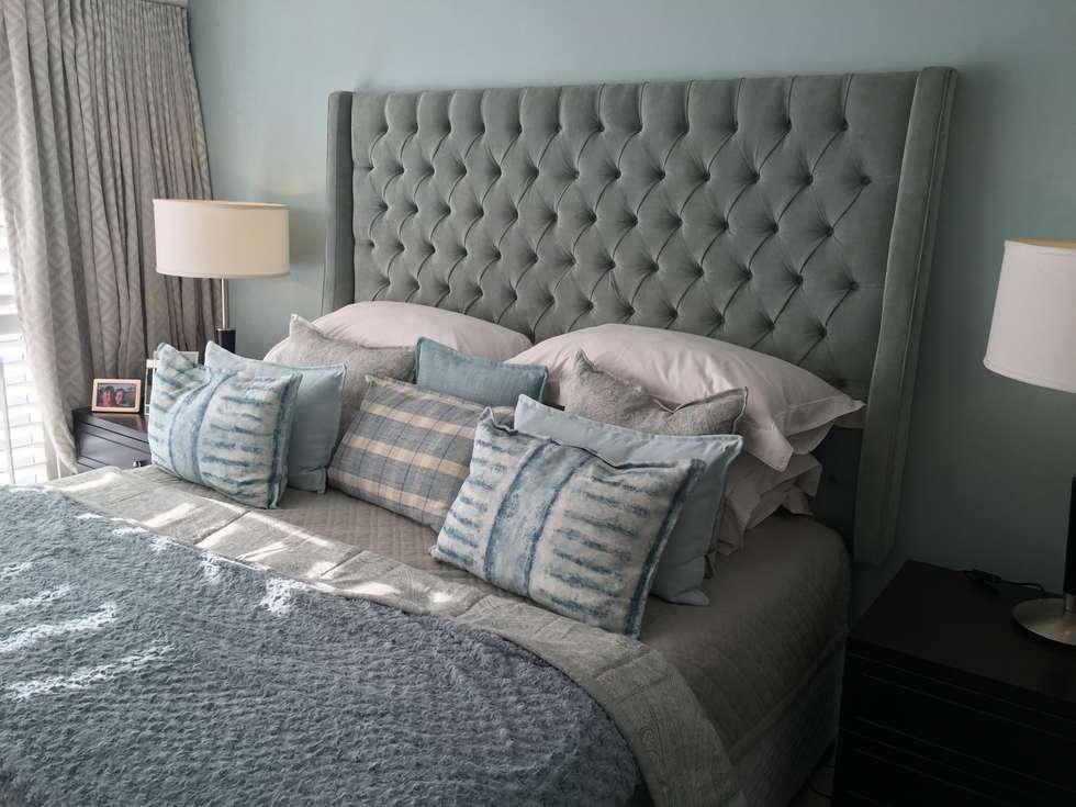 De Kelders Residence Hermanus Western Cape: modern Bedroom by CS DESIGN
