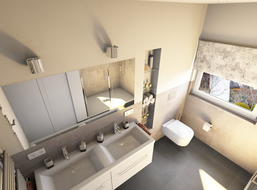 Das Komplette Badezimmer U2014 Zum Festpreis Und Mit Termingarantie: Moderne  Badezimmer Von Bad Campioni