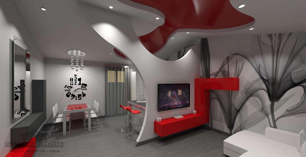 Idee arredamento casa interior design homify - Arredi soggiorno moderno ...
