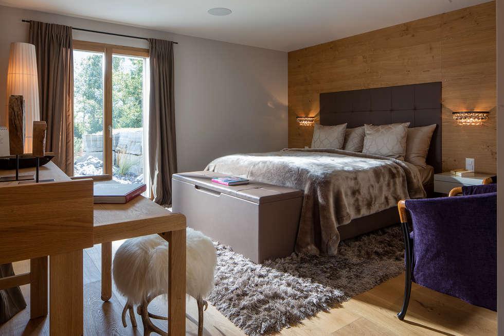 Schlafzimmer im modernen alpenstil: moderne schlafzimmer von baur ...