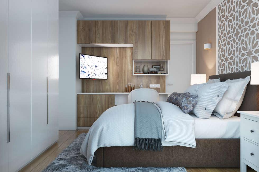 Id es de design d 39 int rieur et photos de r novation homify for Chambre parentale moderne