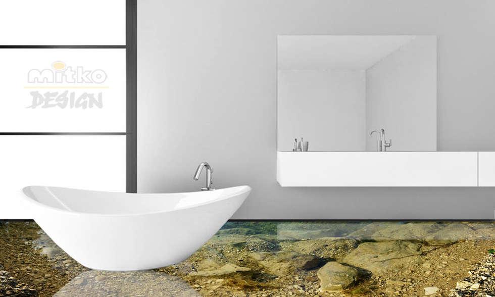 Laufen sie in ihrem bad über wasser… : moderne badezimmer von mitko ...