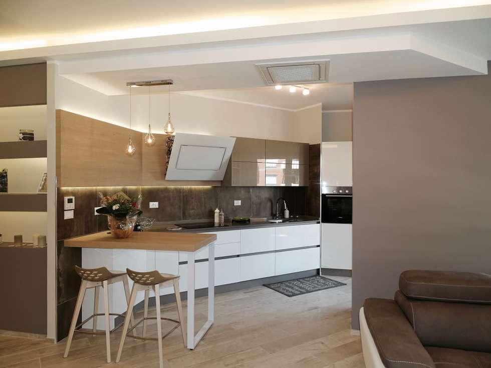 Idee arredamento casa interior design homify for Cucina aperta
