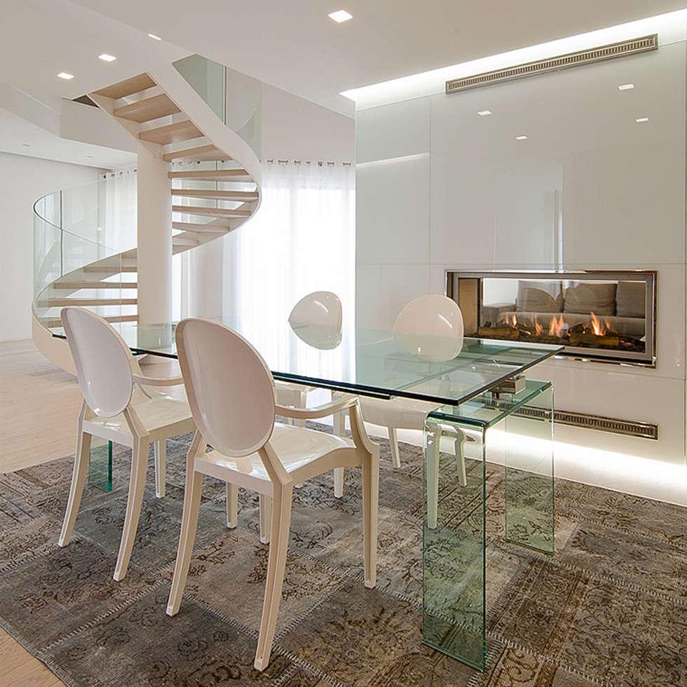 Idee arredamento casa interior design homify - Scale a chiocciola roma ...