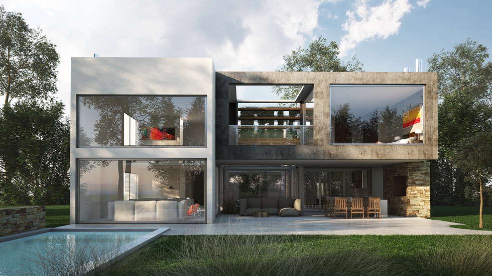 Rumah by Estudio Medan Arquitectos