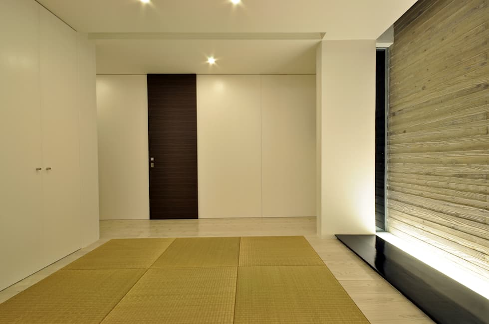 UCHR-HOUSE: 門一級建築士事務所が手掛けた和室です。