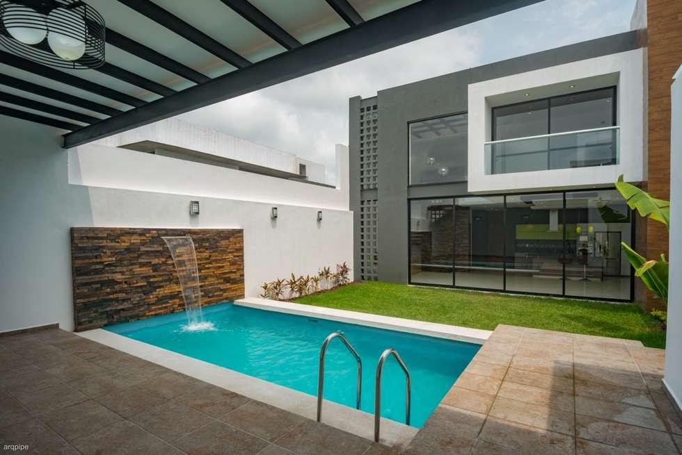 Ideas im genes y decoraci n de hogares homify for Casa minimalista con piscina