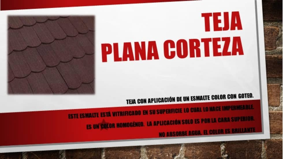 "TEJA PLANA ""CORTEZA"": Casas de estilo moderno por ENFOQUE CONSTRUCTIVO"