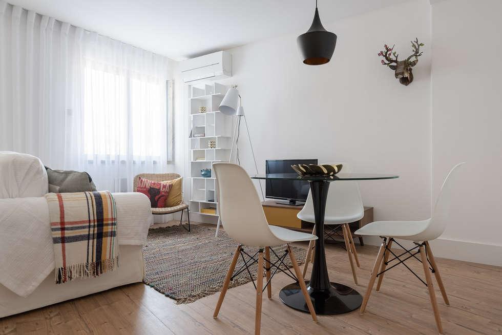 Fotos de decora o design de interiores e remodela es for Decoracion minimalista para departamentos