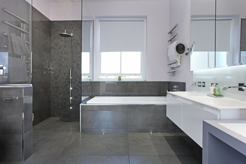 Battersea Town House: modern Bathroom by PAD ARCHITECTS