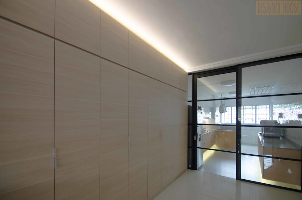 Potong Pasir Renovation: minimalistic Kitchen by Designer House