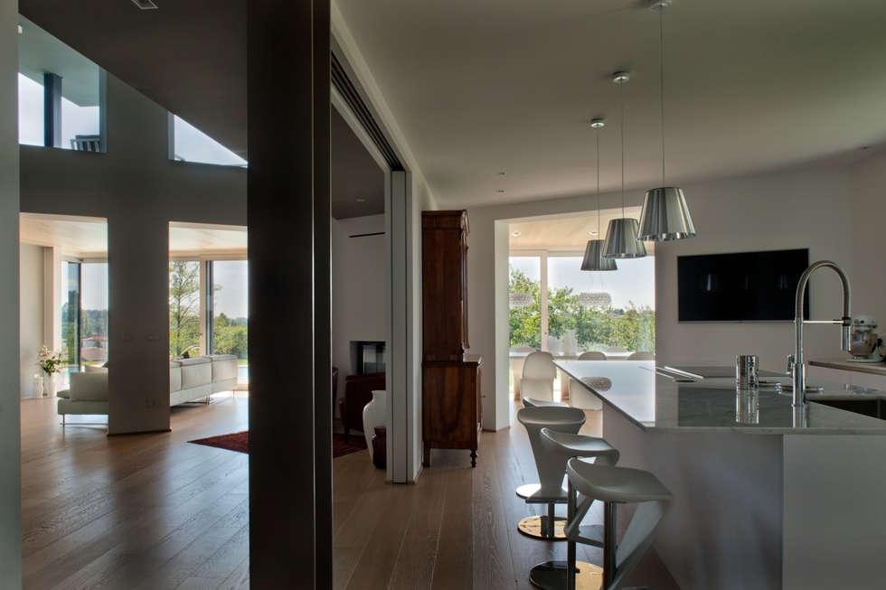 Idee arredamento casa interior design homify - Cucina in veranda ...