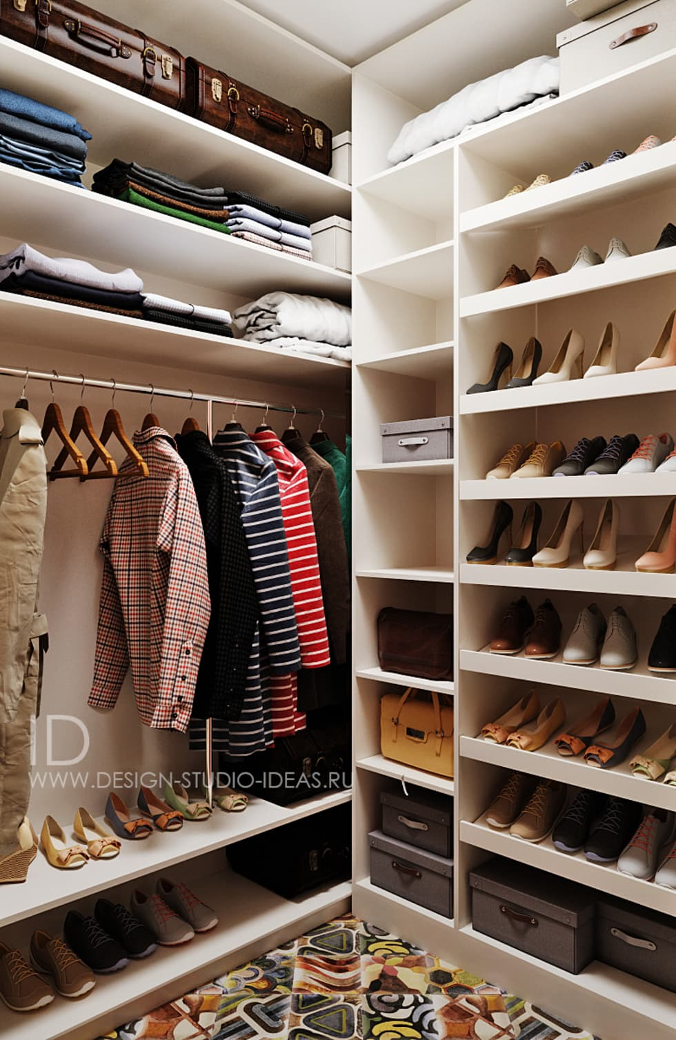 Прихожая + гардероб + прачечная by студия дизайна interior d.