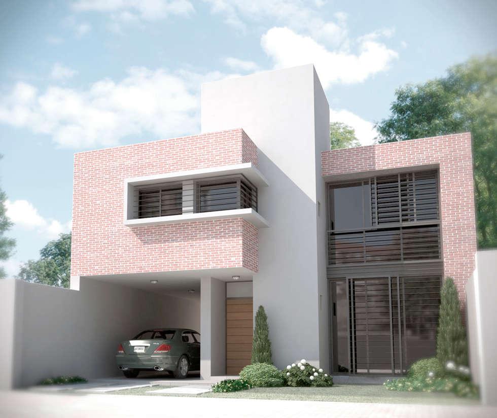 Vivienda PL: Casas de estilo moderno por Proyectarq