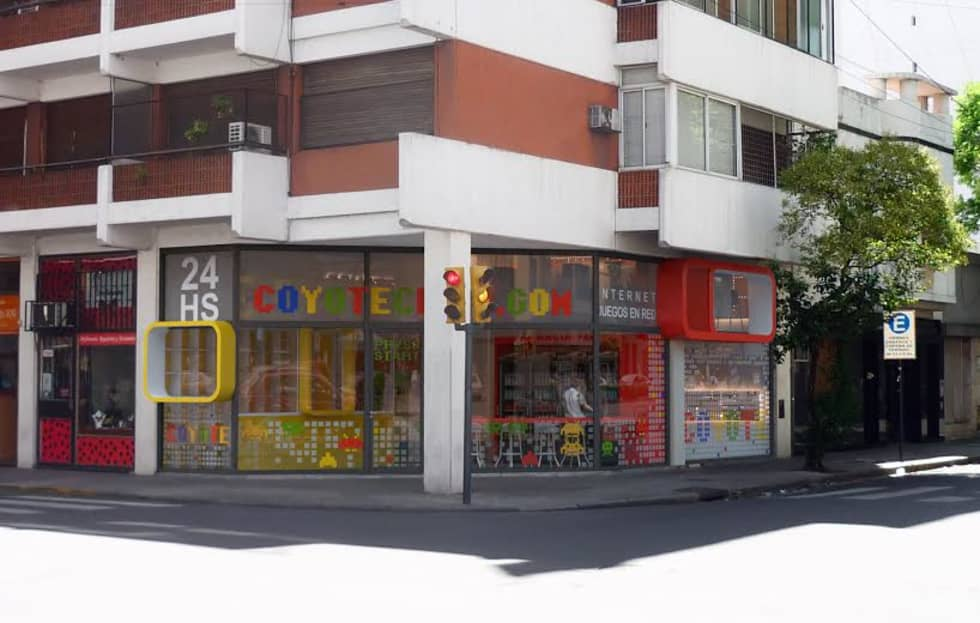 Local comercial: Oficinas y Tiendas de estilo  por Proyectarq