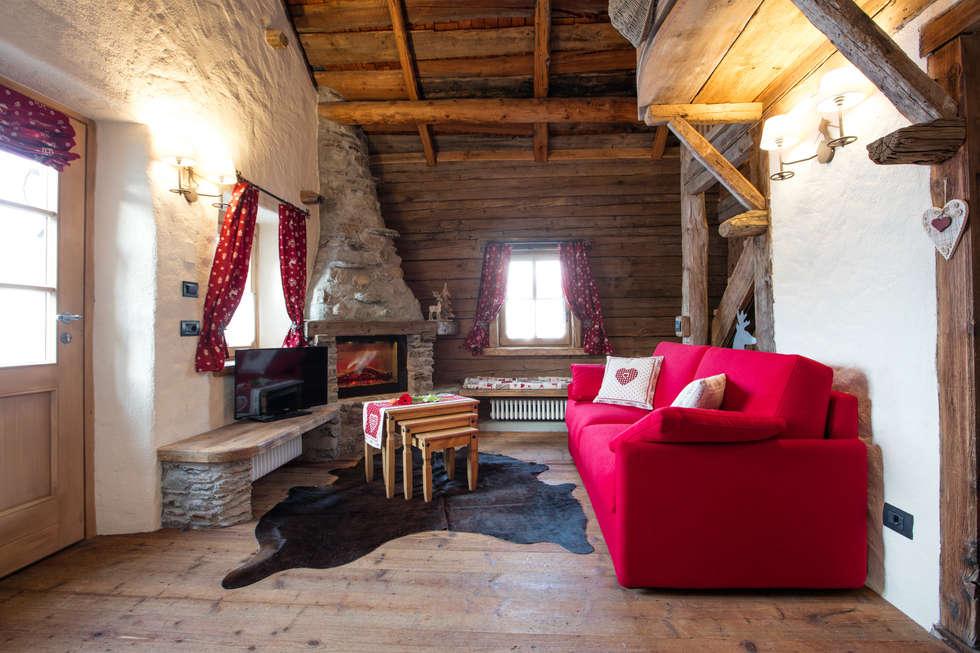Idee arredamento casa interior design homify for Case in stile chalet