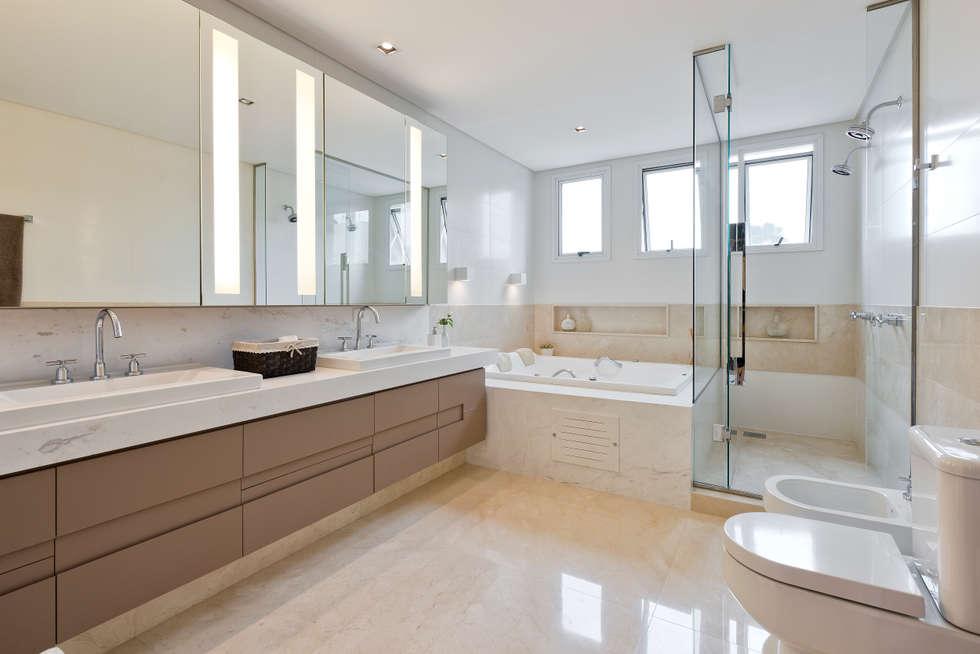 Fotos de banheiros modernos banheiro suíte  homify -> Banheiros Suites Modernos