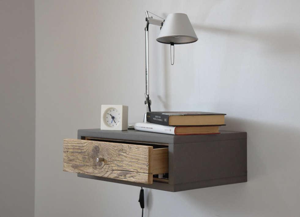 Idee arredamento casa interior design homify for Letto appeso al muro
