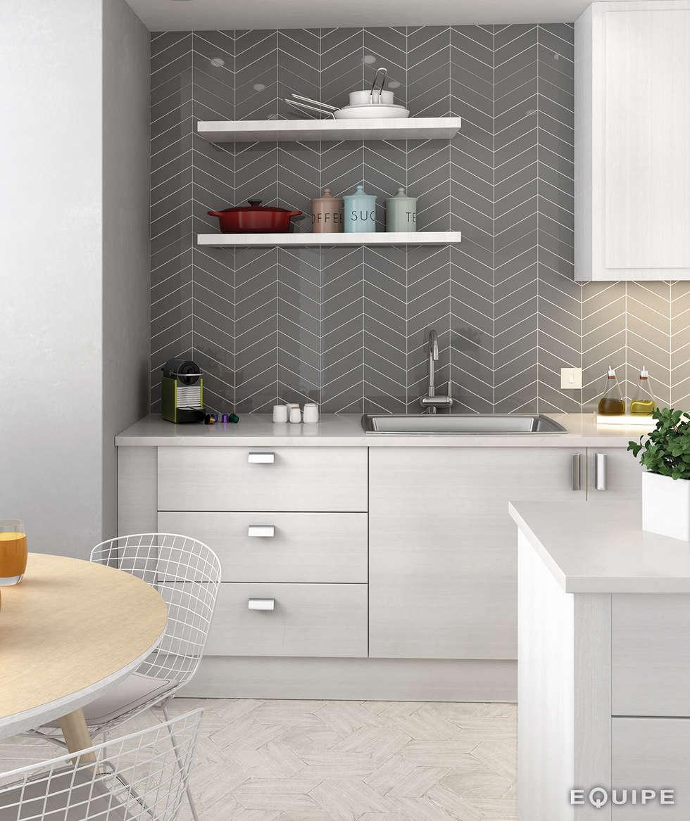 Cozinhas Com Ceramicas Modernas Aplicao De Piso E Azulejos With