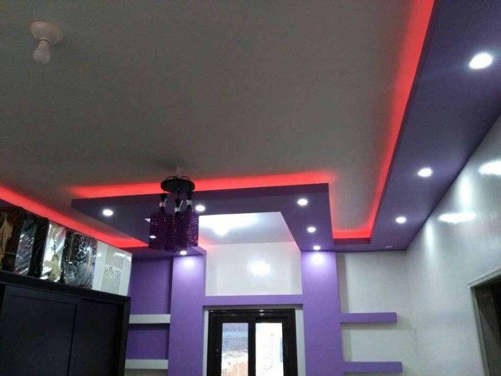 تشطيب شقة بالتجمع الخامس بالقاهرة الجديدة :  غرفة نوم تنفيذ Castle